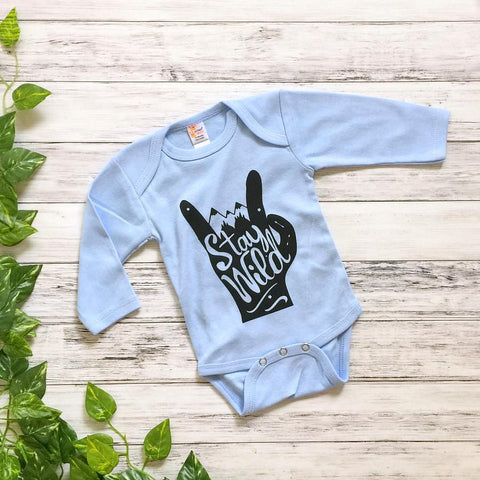 Stay Wild Boys/Girls Onesie