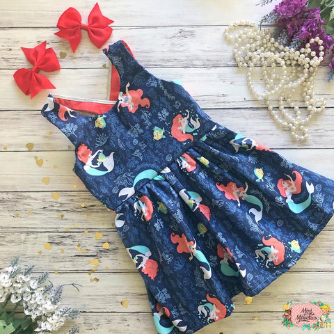 Under the Sea - Ariel Stella Dress