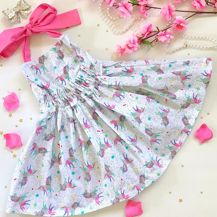Scattered Unicorns Jive Dress