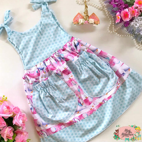 Unicorns in the Clouds Kate Dress