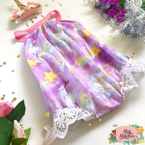Unicorns in the Moonlight Darling Romper