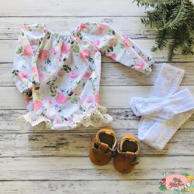 Winter Bloom -Seaside Romper