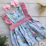 Winter in Bloom Polly Dress