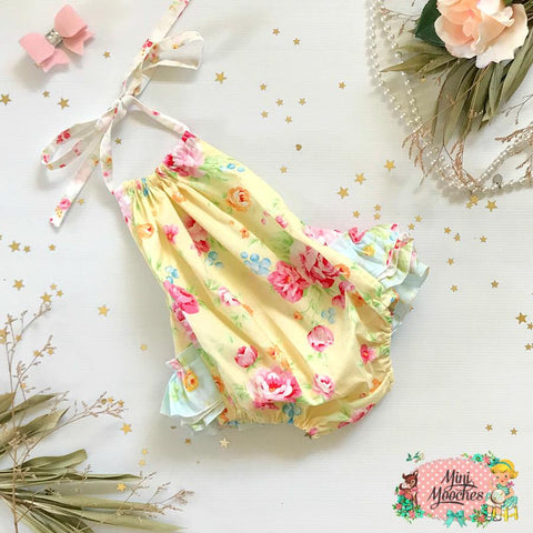 My little Sunshine 3frill Play-suit