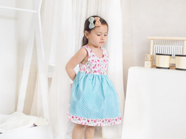 Leeza Easter Tea Dress