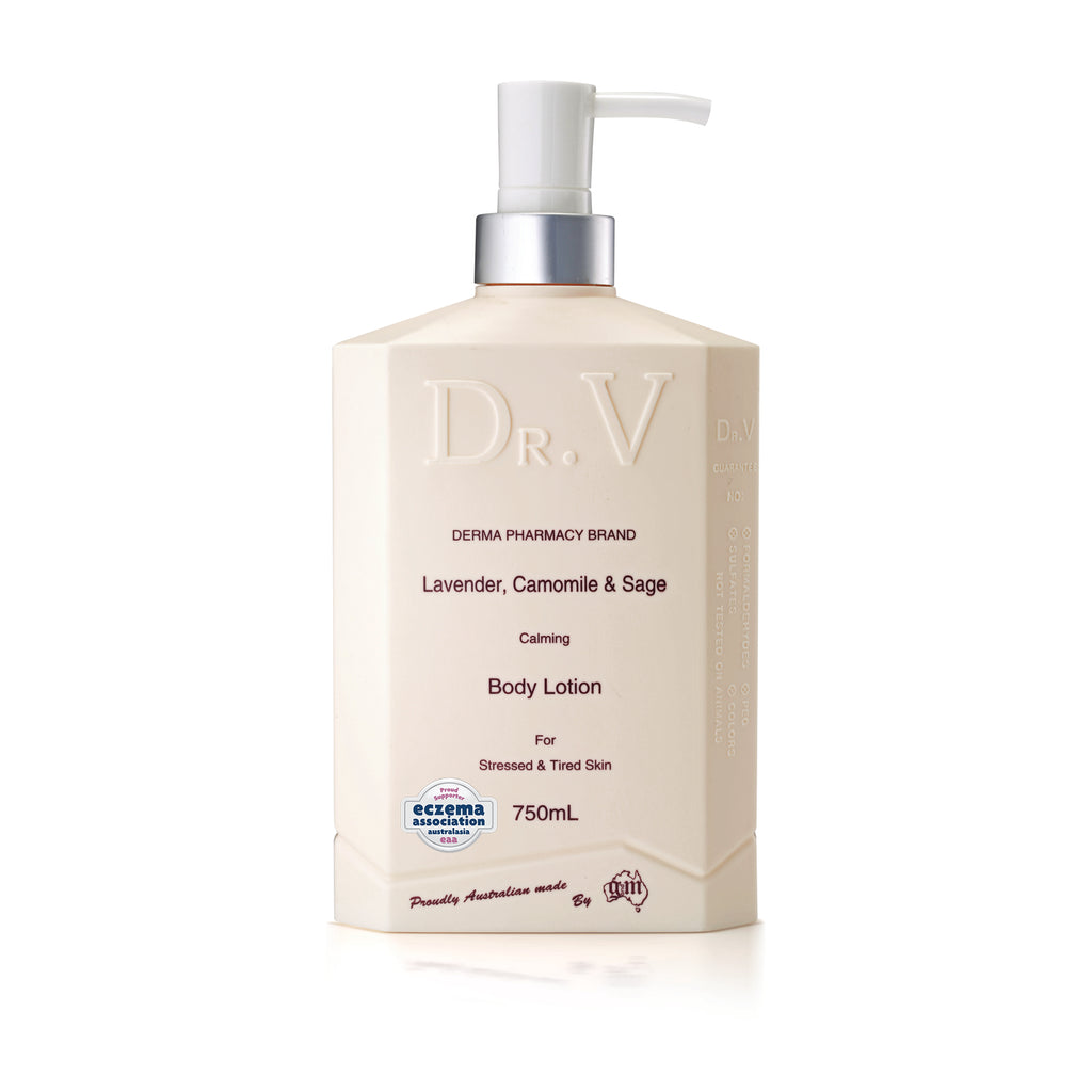 Lavender, Chamomile & Sage Body Lotion_DR. V (750ml/25.4floz)