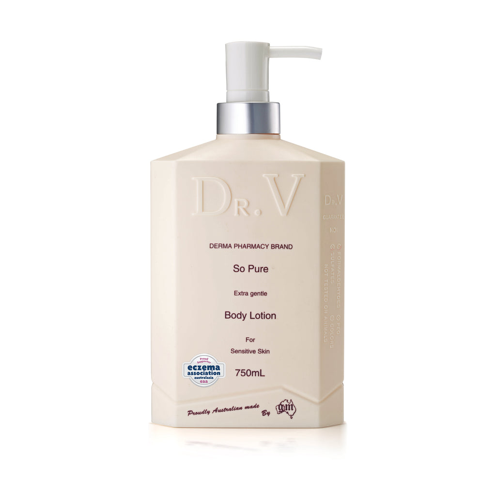 So Pure Body Lotion_DR. V (750ml/25.4floz)