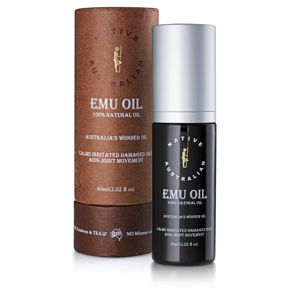 Emu Oil 100% Pure_Native Australian (60ml/2floz)