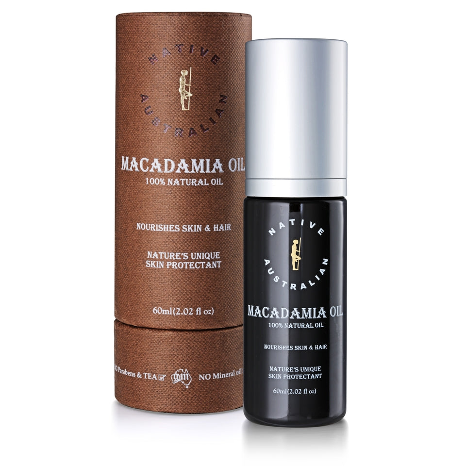 Macadamia Oil 100% Pure & Organic_Native Australian (60ml/2floz)