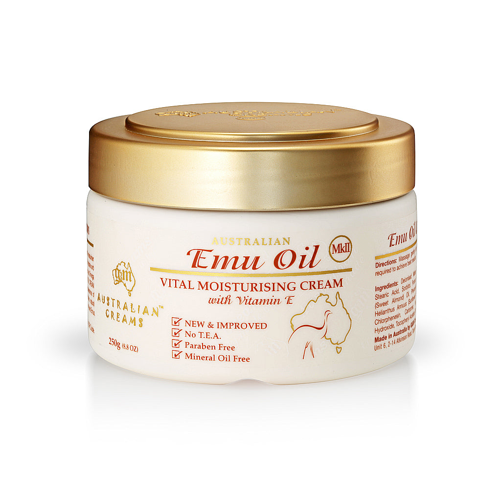 Emu Oil Vital Moisturizing Cream (250g/8.8oz)