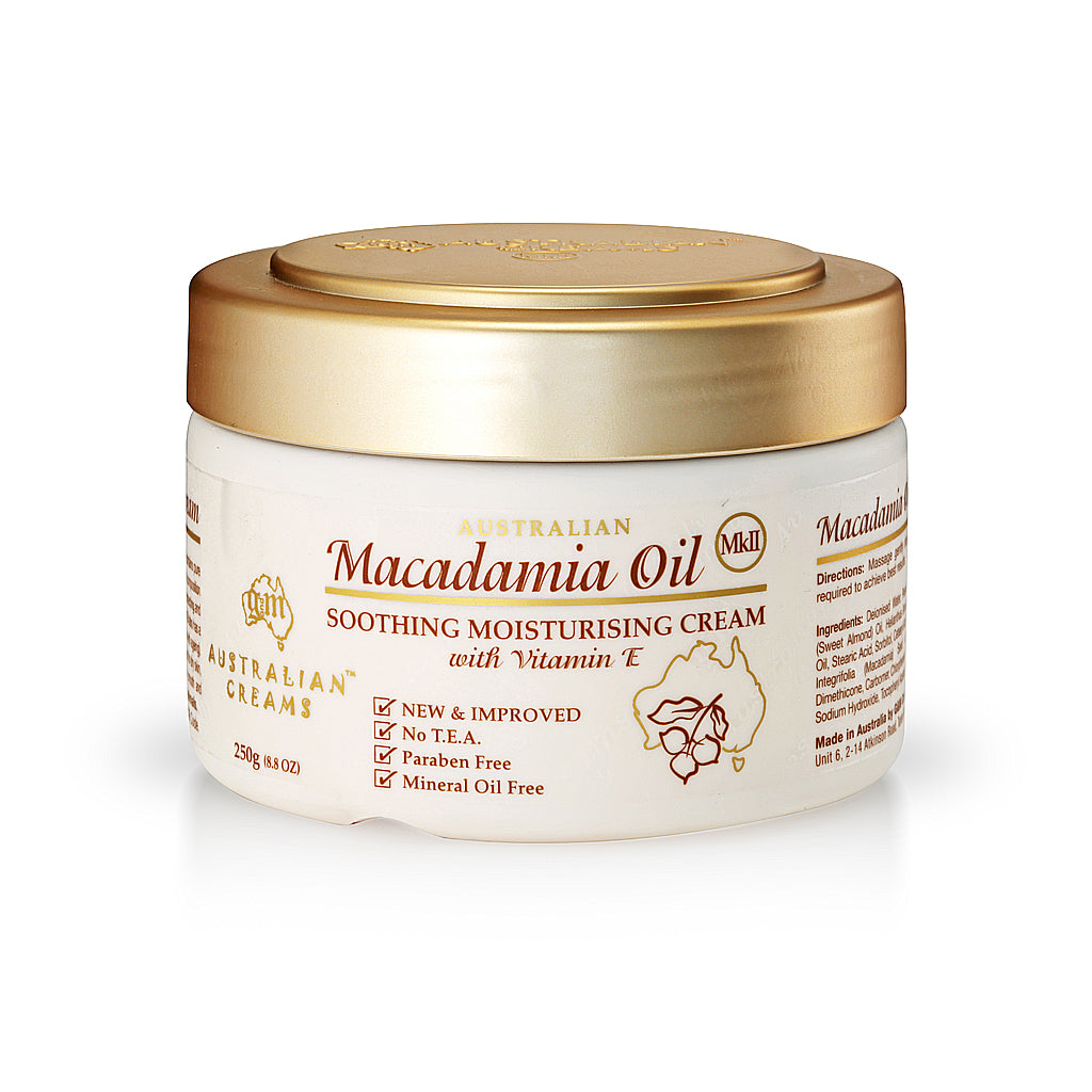 Macadamia Oil Soothing Moisturizing Cream_Australian Creams MKII (250g/8.8oz)