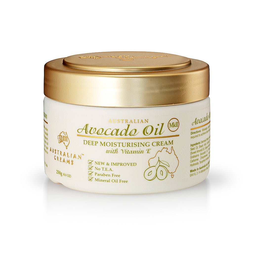 Avocado Oil Deep Moisturizing Cream_Australian Creams MKII (250g/8.8oz)