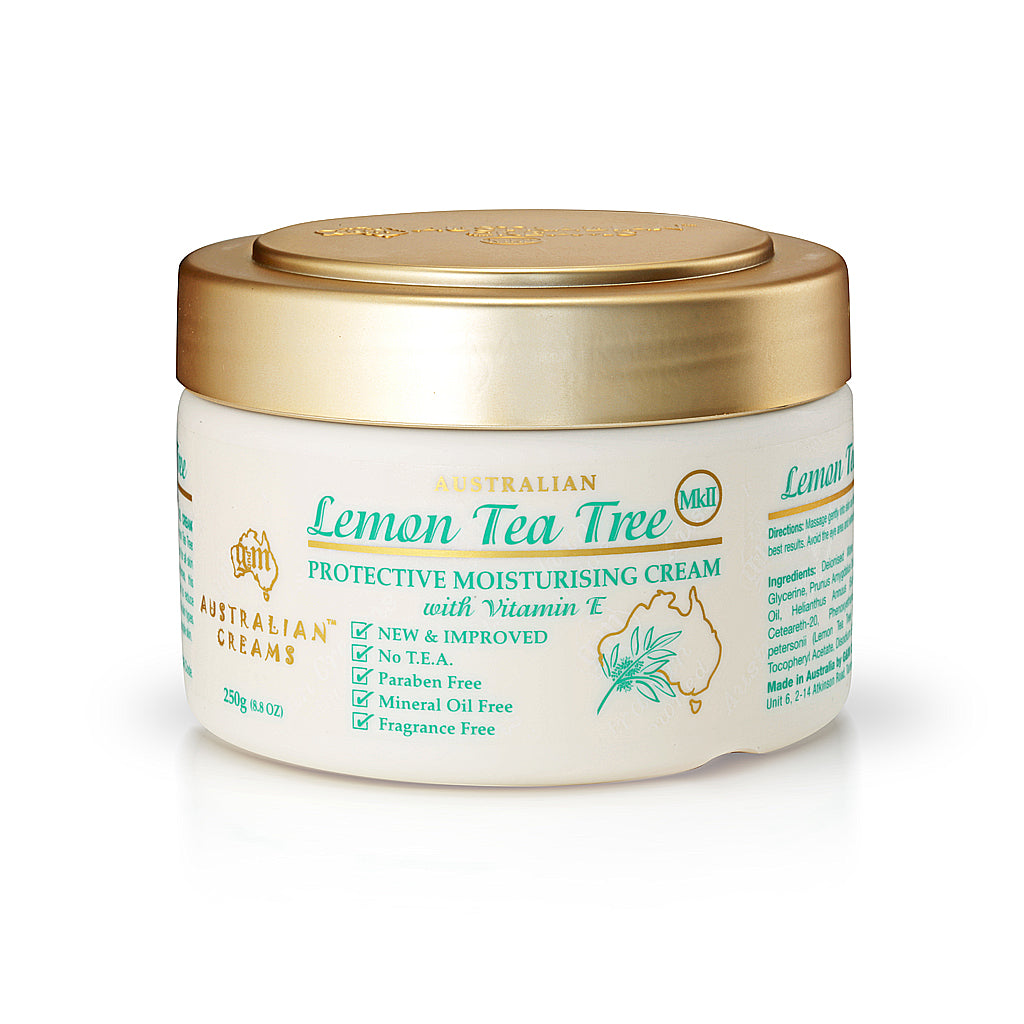 Lemon Tea Tree Protective Moisturizing Cream_Australian Creams MKII (250g/8.8oz)