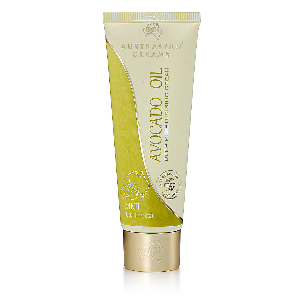 Avocado Oil Deep Moisturizing Cream_Australian Creams MKII (100g/3.5oz)