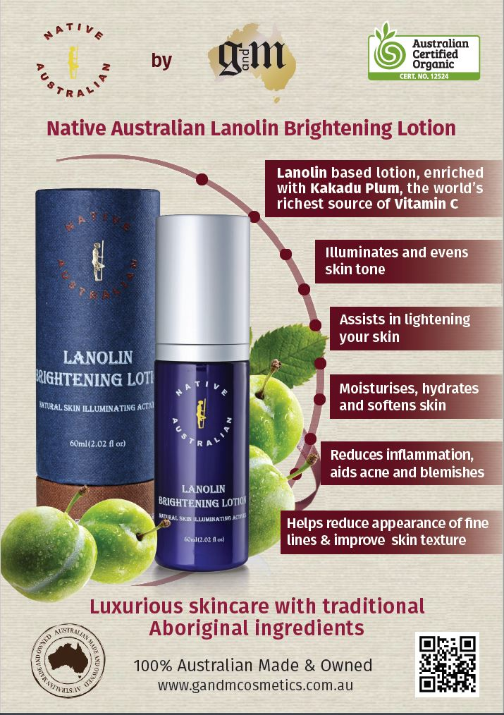 Lanolin Brightening Lotion_Native Australian (60ml/2oz)