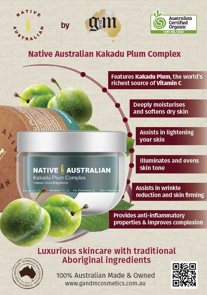 Kakadu Plum Complex | Intense Skin Brightener for Healthy Glowing Skin (150g/5.3oz)