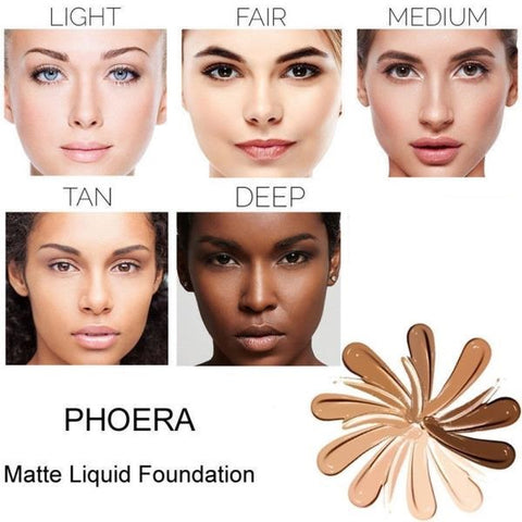 PHOERA Matte Liquid Foundation