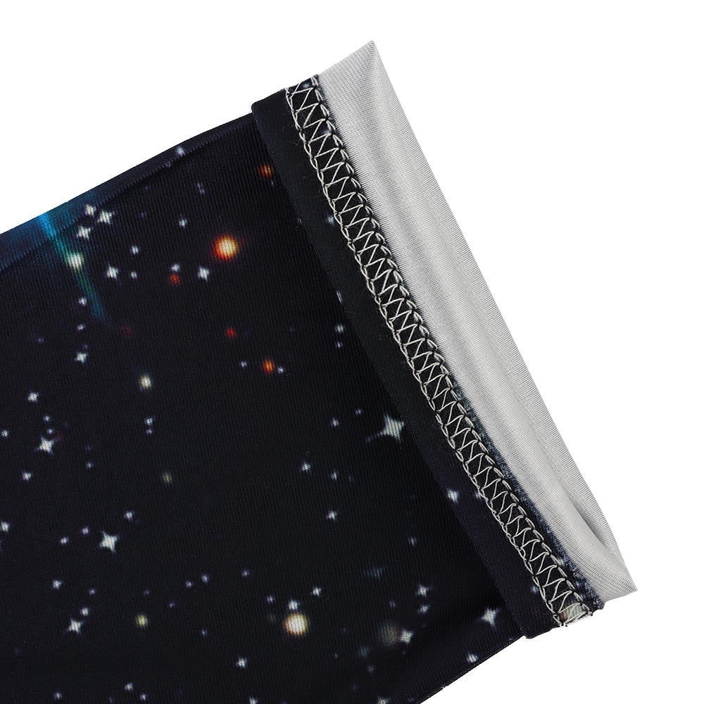 3D Blue Galaxy Sexy Leggins