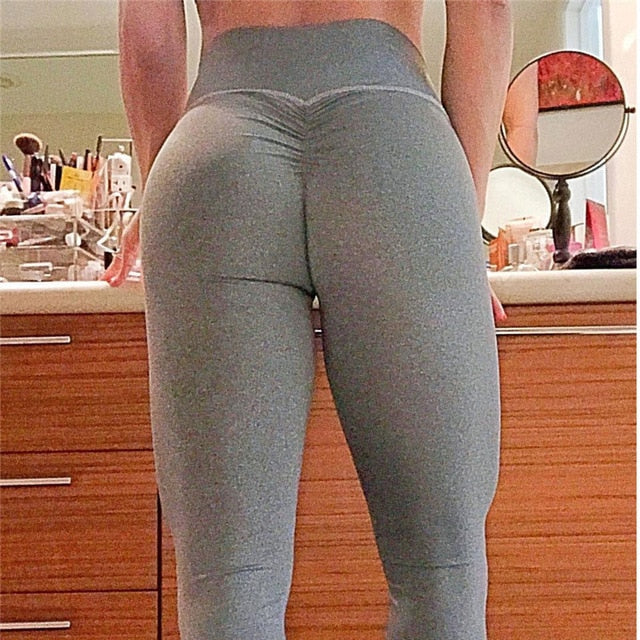 High Waisted Scrunch Leggings