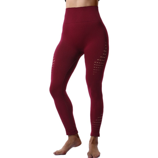 Hollow Out Sport Leggings for Women