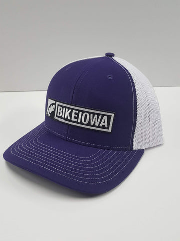 Trucker Cap - Snap-back - Purple/White