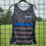 'Back the Blue' Law Enforcement Support - Women's Gemini Tank