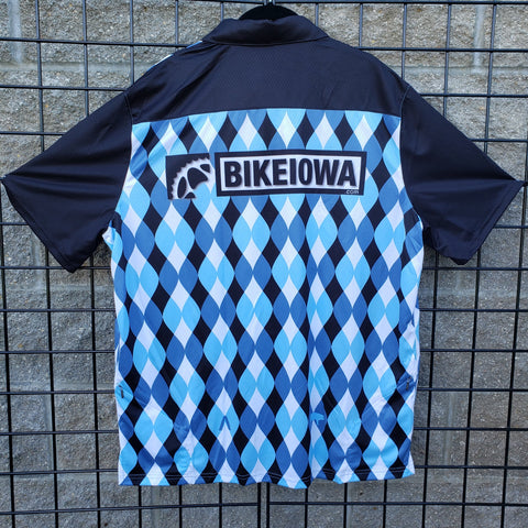 Blue Wave Crew Shirt