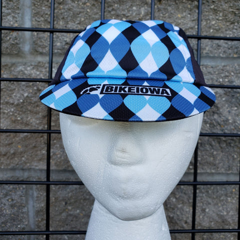 Blue Wave Cycling Cap