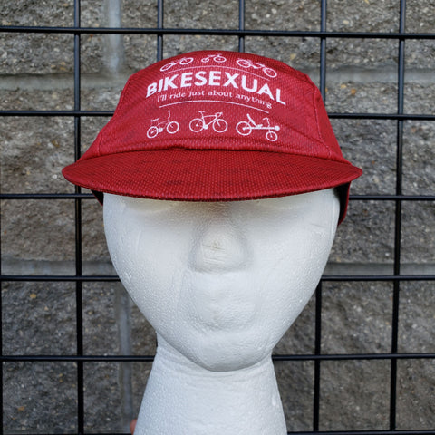 BIKESEXUAL Cycling Cap