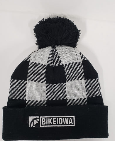 BIKEIOWA Northwoods Stocking Cap