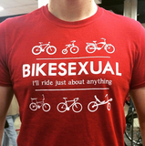BIKESEXUAL T-shirt
