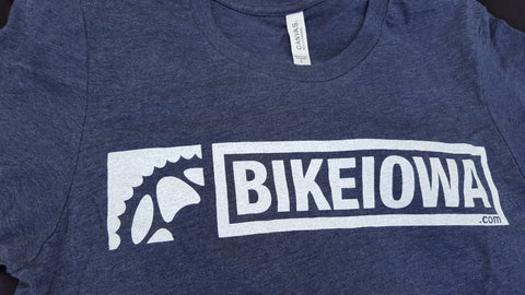 BIKEIOWA Heather Navy Blue