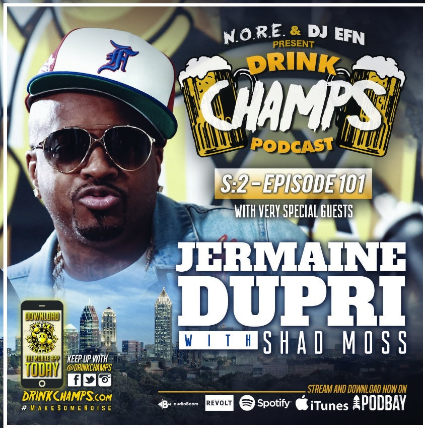 Episode 101 w/ Jermaine Dupri #DrinkChamps