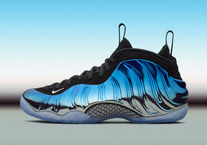 Nike Air Foamposite One Blue Mirror 2015 Release