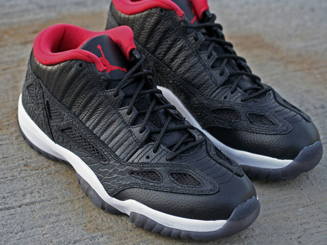 d44f41332c6db Air Jordan 11 Low IE Black True Red Release | 8&9 Clothing Co.