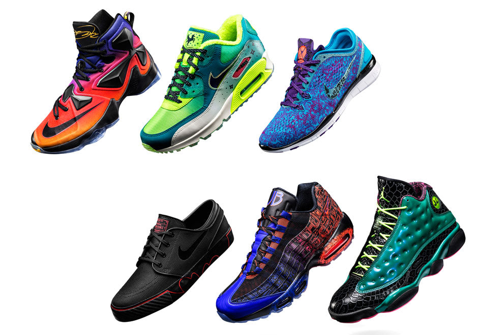 2015 Nike Doernbecher Freestyle Collection Pics And Release