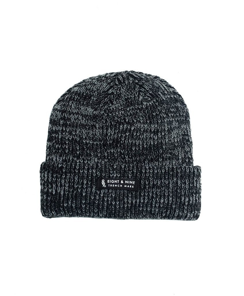 2016 Holiday Streetwear Stocking Stuffers! - Ribbed Dock Beanie Black Marled