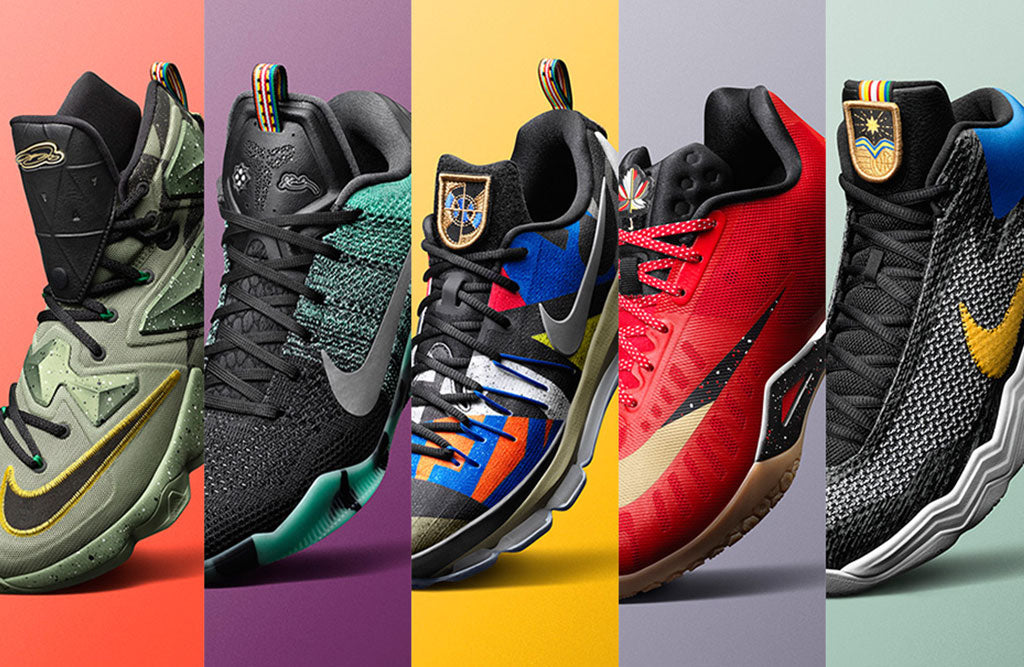 2016 nike air star basketball collection