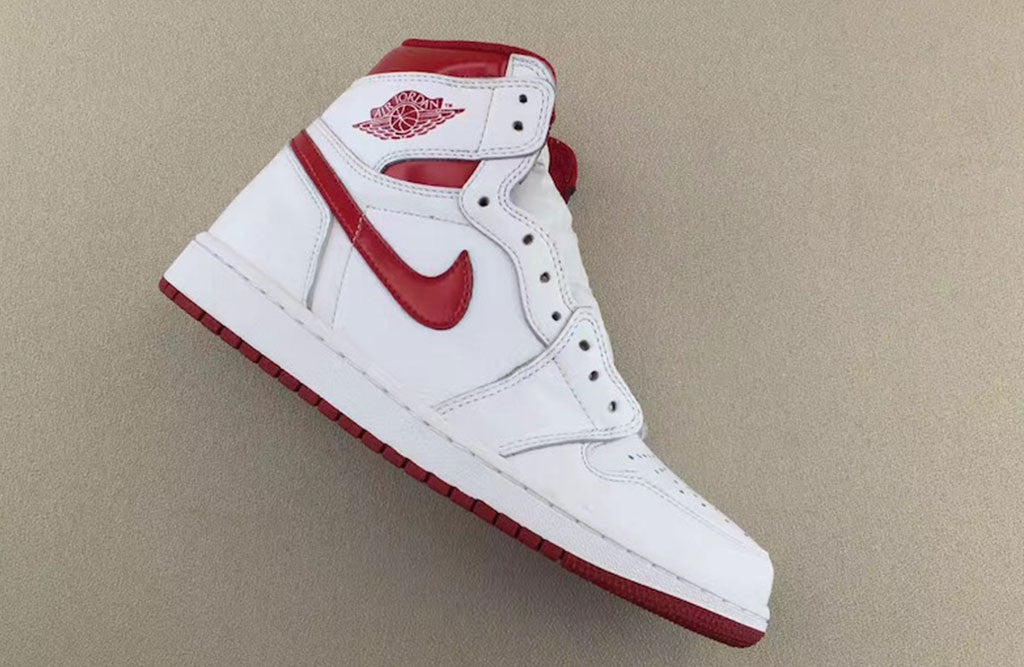 2017 Air Jordan 1 OG Metallic Red Release