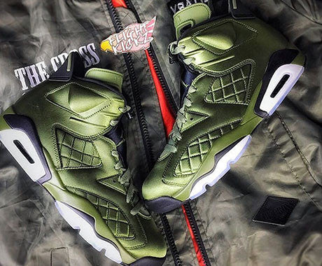 2017 Air Jordan 6 Pinnacle Flight Jacket details