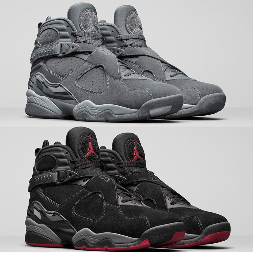 2017 Jordan 8 Cool Grey and Cement Releases!