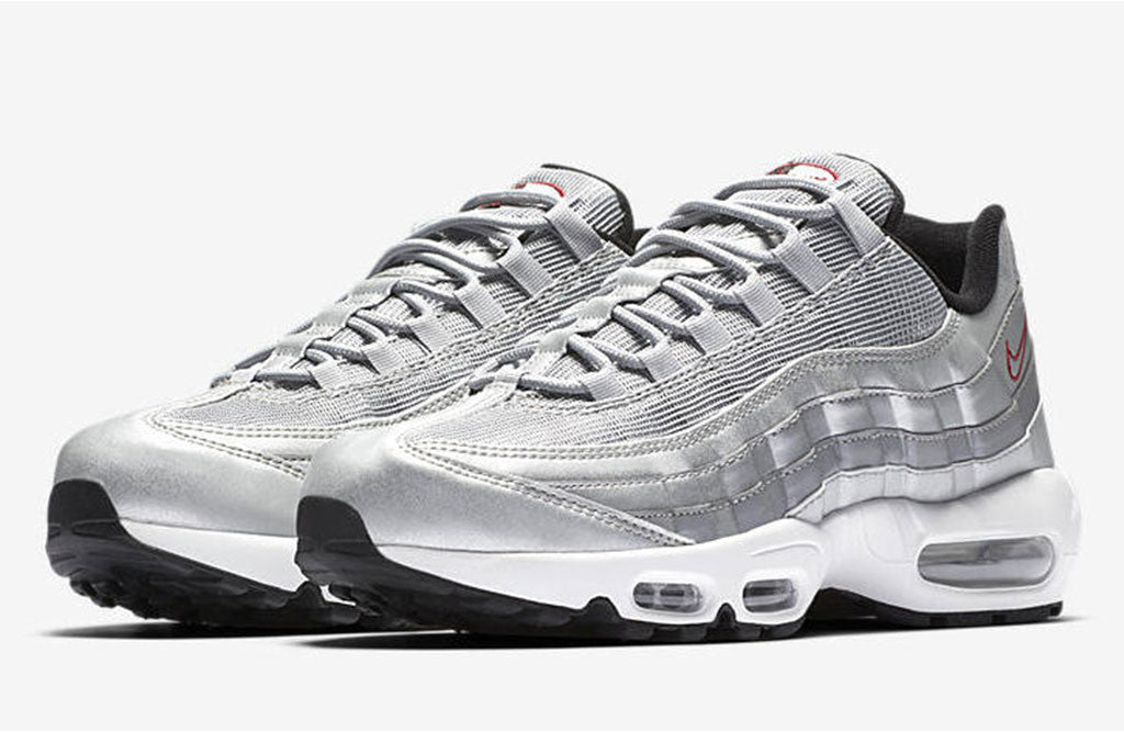 00cadb20a4cd1 2017 Nike Air Max 95 Silver Bullet Release | 8&9 Clothing Co.