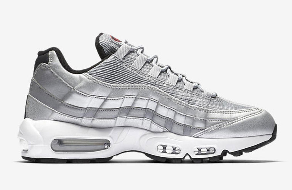 2017 Nike Air Max 95 Silver Bullet Release right