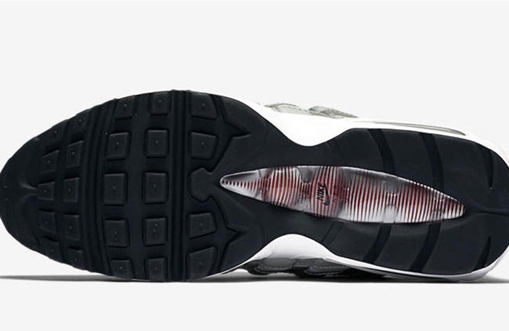 2017 Nike Air Max 95 Silver Bullet Release sole