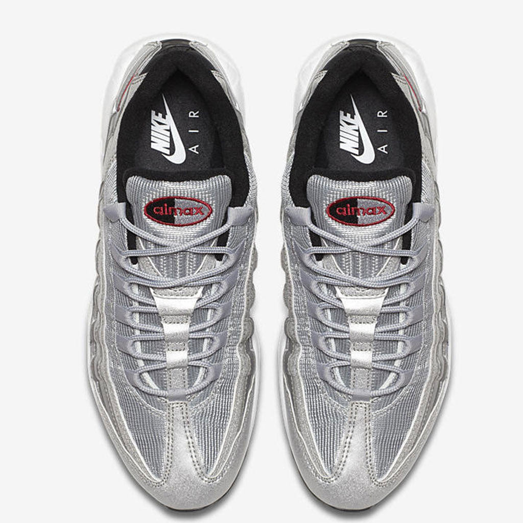 2017 Nike Air Max 95 Silver Bullet Release top