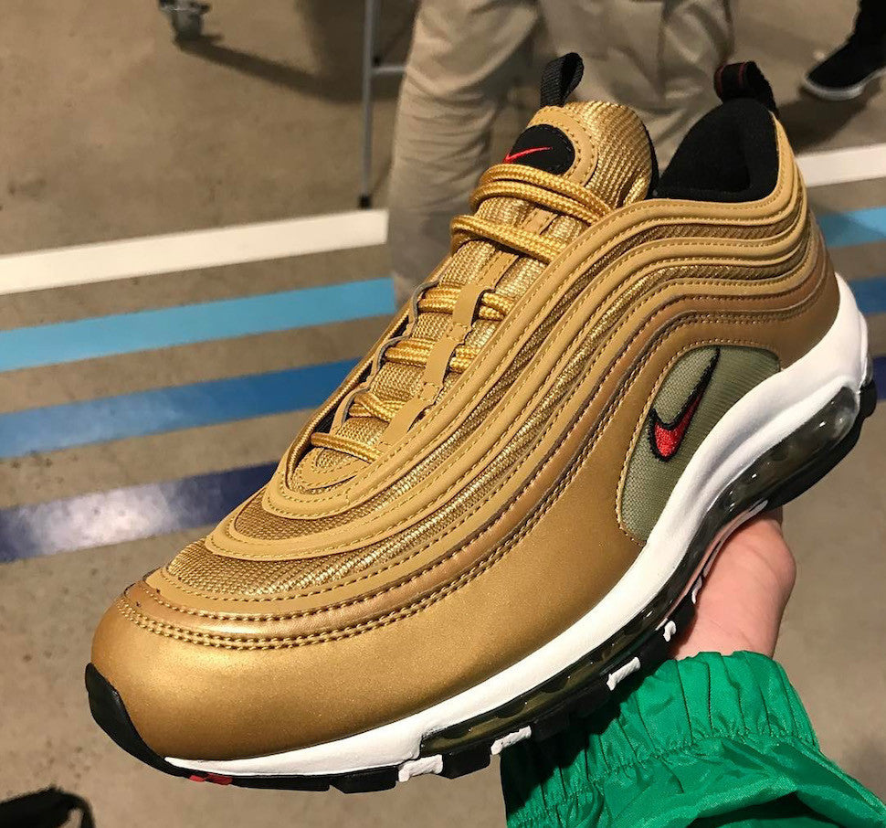 2017 Nike Air Max 97 Metallic Gold  819dccdfc