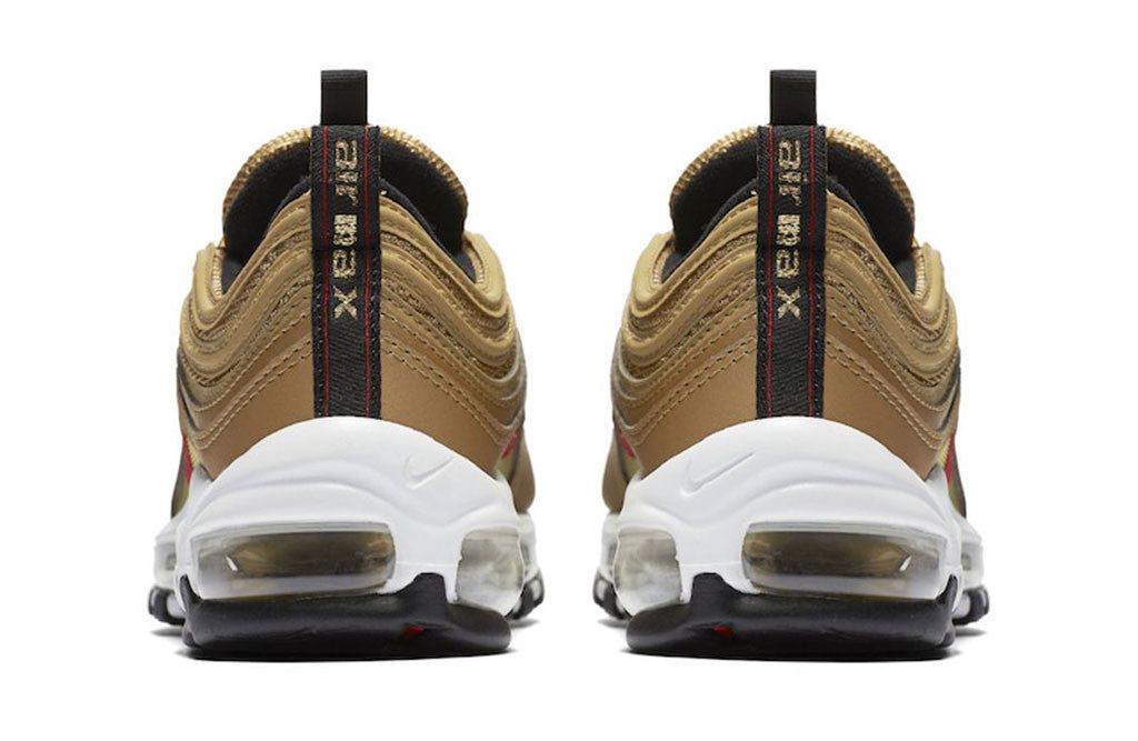 2017 Nike Air Max 97 Metallic Gold heel