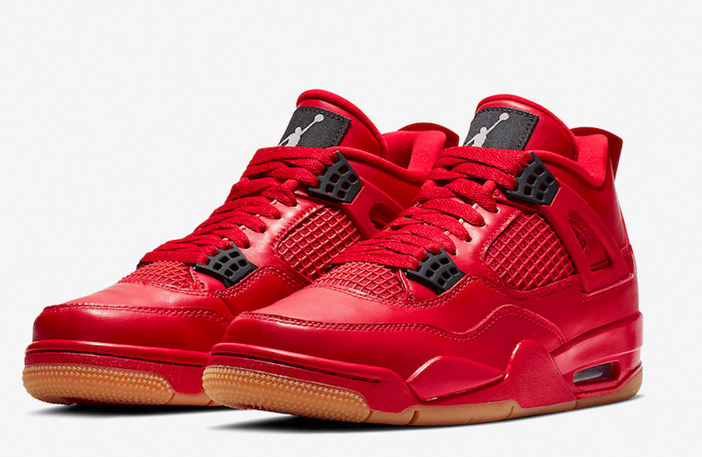"pretty nice 6119d 2148d 2018 Air Jordan 4 Singles Day. Air Jordan 4 ""Singles Day"" Color  Fire Red Summit  White-Black Style Code  AV3914-600. Release Date  November ..."