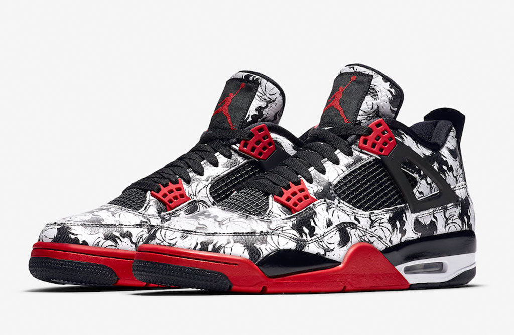 super cheap 8eab6 801ca 2018 Air Jordan 4 Tattoo