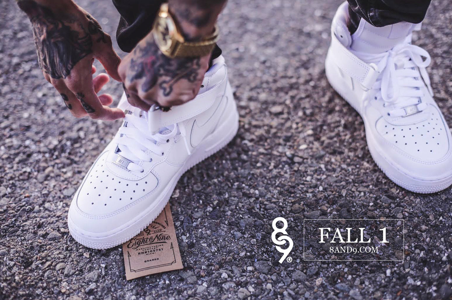 8&9 MFG. CO. FALL 2016 LOOK BOOK air force 1